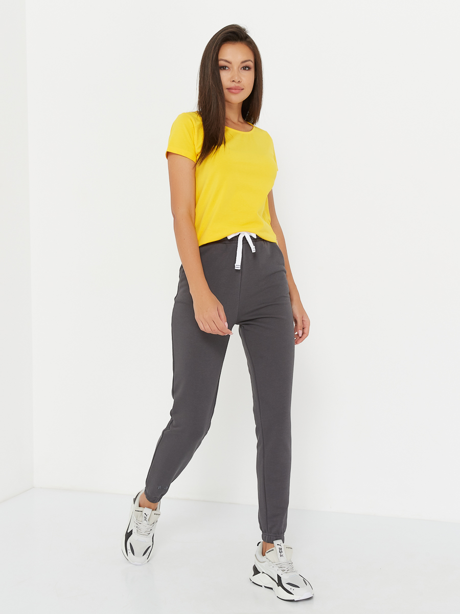 high waisted pants graphite
