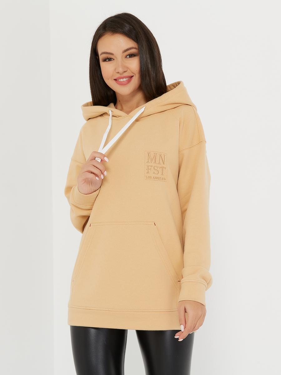 oversized hoodie beige