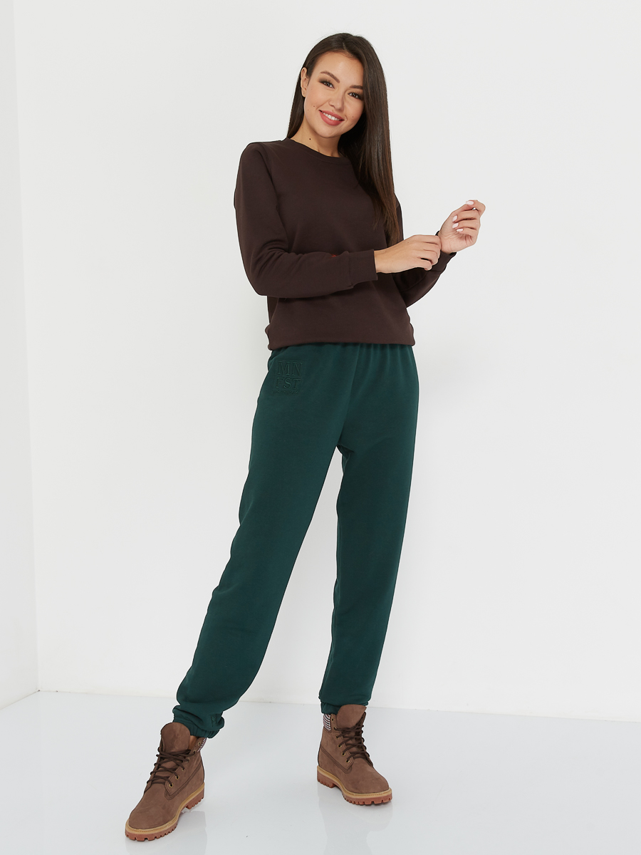 oversized pants MNFST evergreen