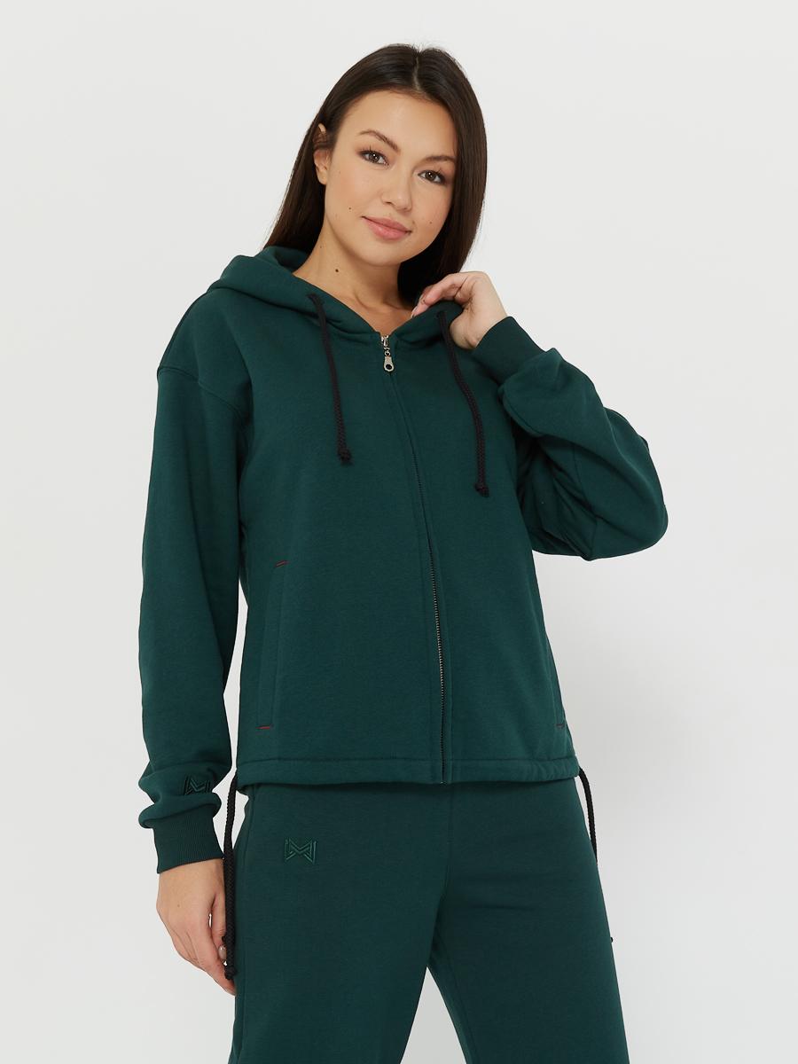 hoodie ZIP evergreen