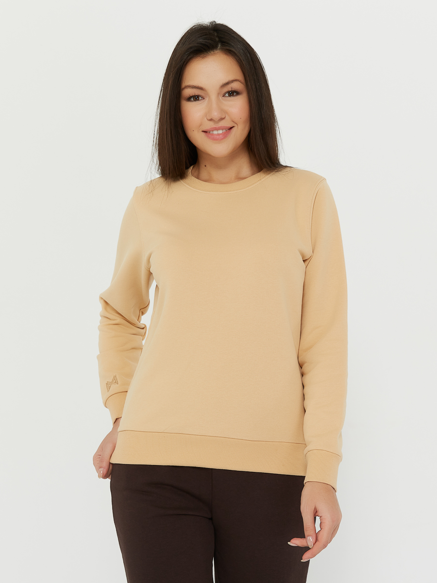 basic sweatshirt beige