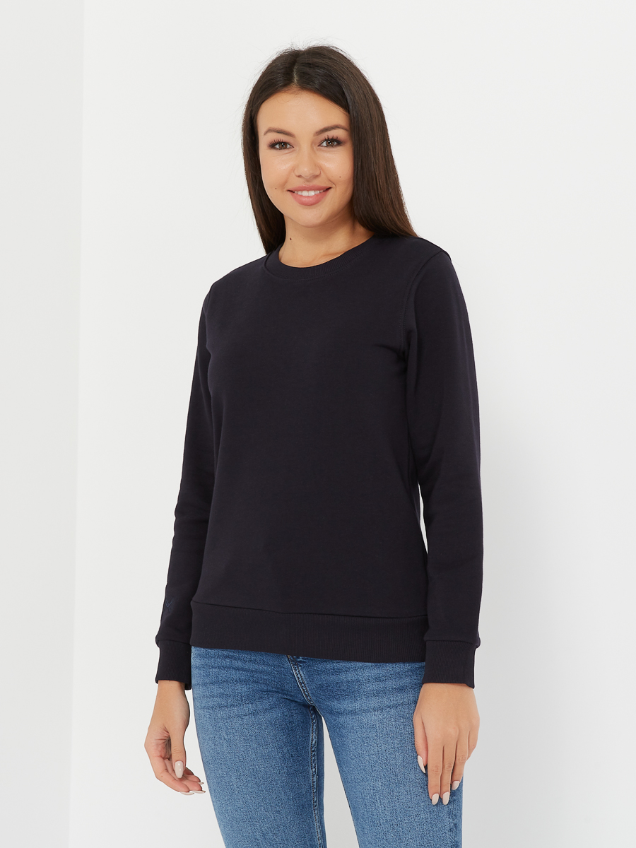 basic sweatshirt midnight blue