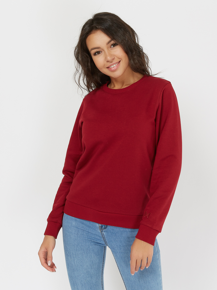 basic sweatshirt cherry