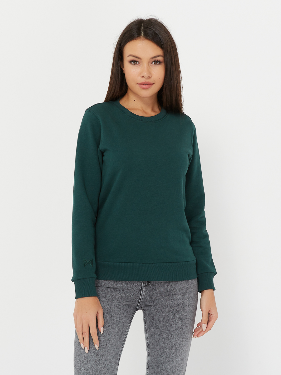 basic sweatshirt evergreen